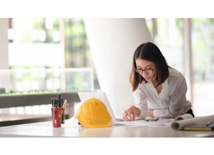 大手商社系不動産会社で内装工事管理の事務