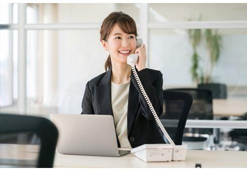 不動産取引サービスの金融系専門会社で事務スタッフ